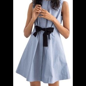 And Other Stories tie front dress